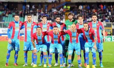 Il Catania vittorioso contro la Pro Vercelli, un anno fa