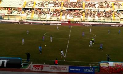 Un'istante di Catania - Paganese, ultima gara del 2015 rossazzurro