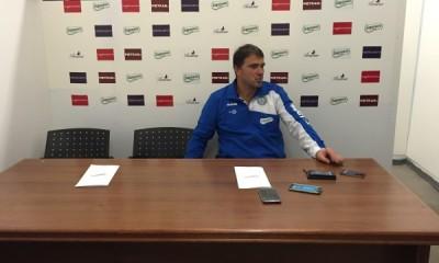Luca D'Angelo, allenatore della Fidelis Andria