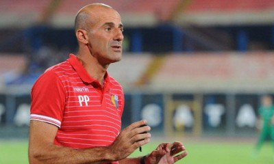 Pippo Pancaro, alla sua terza esperienza da allenatore, a Catania
