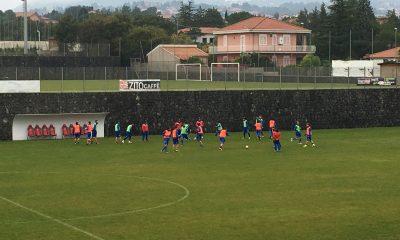 Catania allenamenti