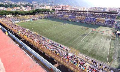 """Foto: lapresse    Finale di andata - Campionato """"Lega Pro"""" girone B Stadio Romeo Menti di Castellammare di Stabia Juve Stabia - Atletico Roma"""
